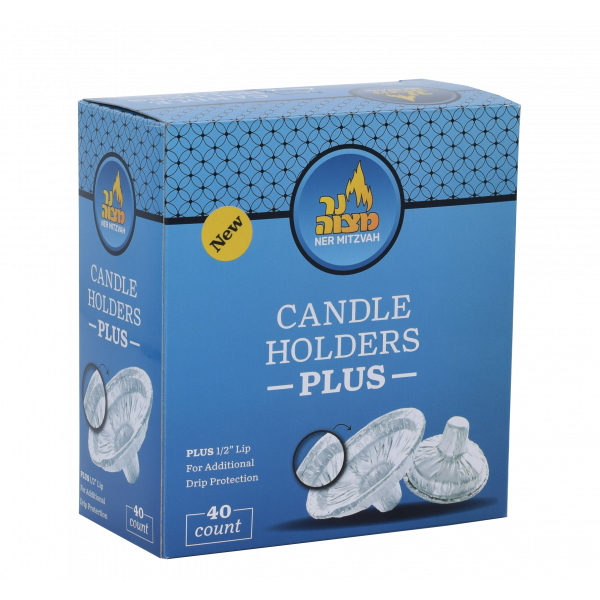 Extra Heavy Disposable Candle Holder PLUS