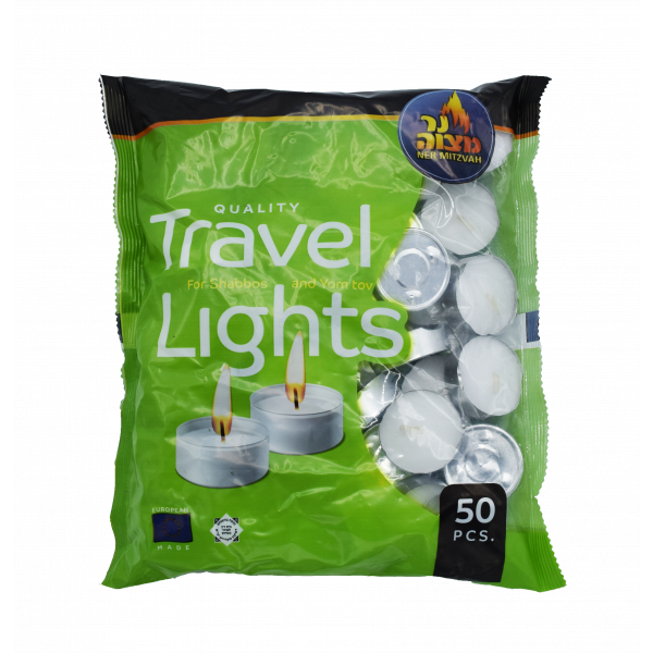 Travel Candles Tealights in a Bag 50 ct.