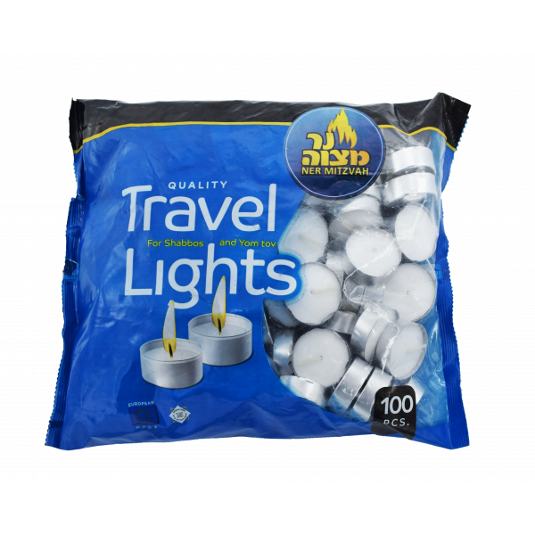 Travel Candles Tealights in a Bag 100 ct.