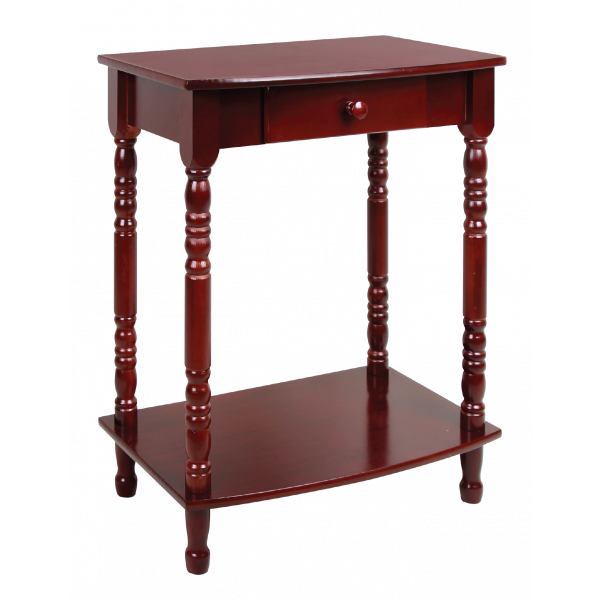 Menorah Stand with Drawer - 3 Heights