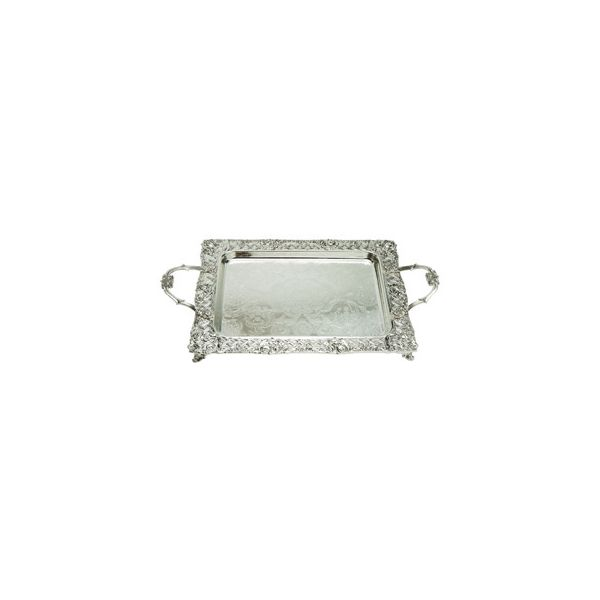 Silver Plated Tray Square